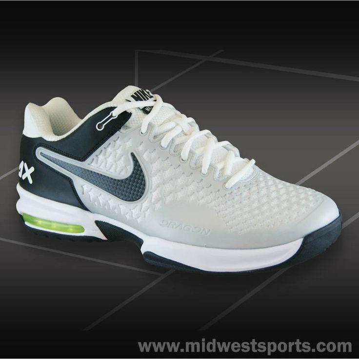 Nike Air Max Cage Men's Tennis Shoe White/Anthracite-