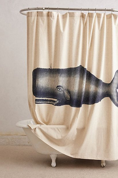 Moby Shower Curtain - anthropologie.com #anthroregistry