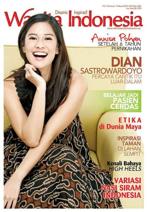 Dian Sastrowardoyo // Tabloid Wanita Indonesia