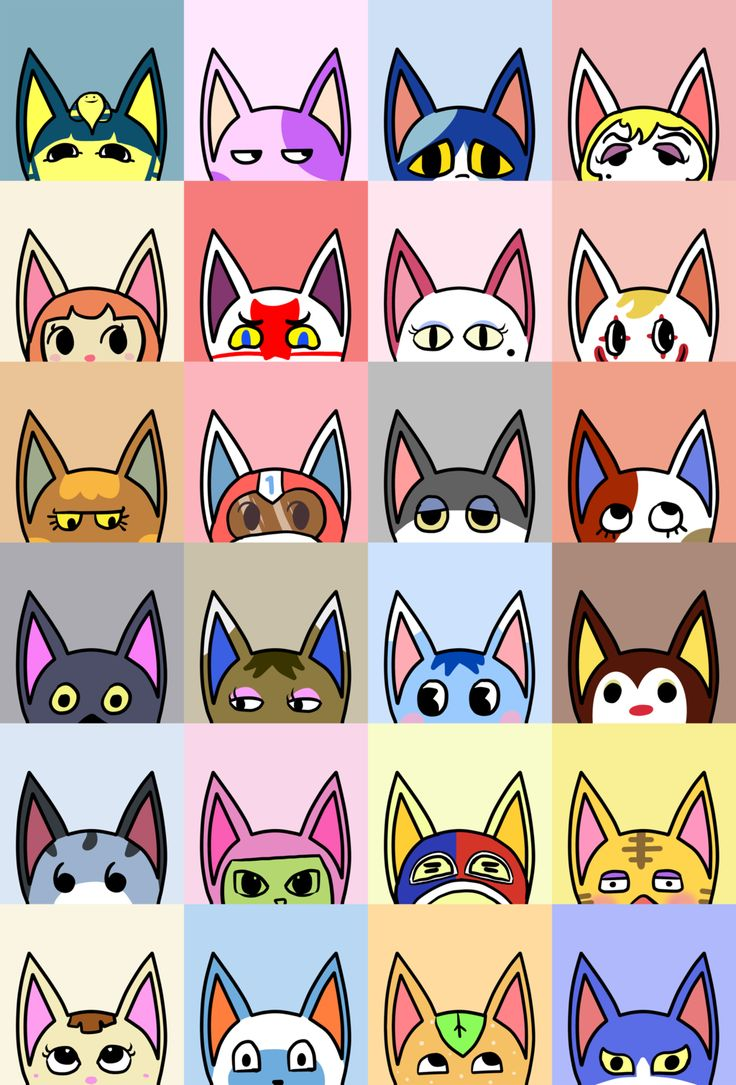 List Of Animal Crossing New Leaf Cats