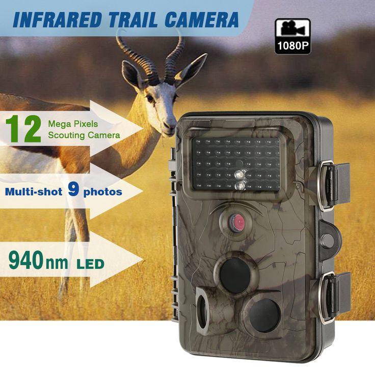 Trail Camera 1080P Night Vision Hunting Camera //Price: $119.99     #PleaseForgiveMe