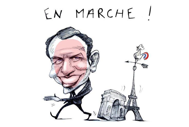 Cette journaliste britannique a observé de près la présidentialisation d'Emmanuel Macron. Selon elle, il s'inspire du premier chef d'État français adepte de la communication : Louis XIV.
