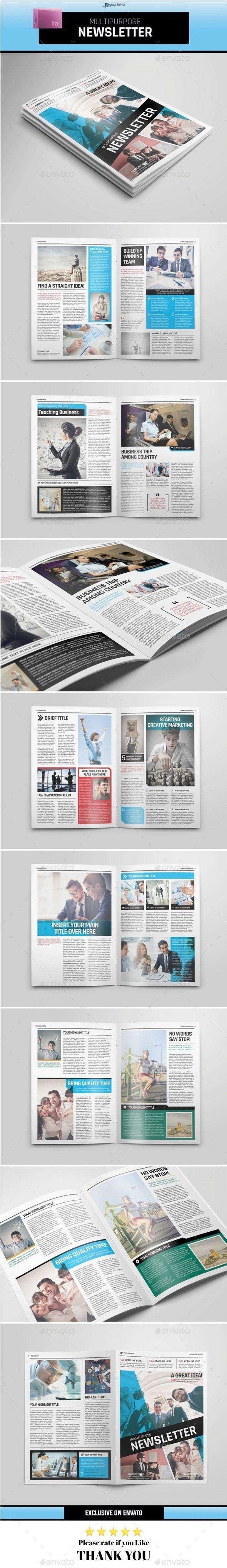 Multipurpose Newsletter Template #design Download: http://graphicriver.net/item/multipurpose-newsletter/11393385?ref=ksioks