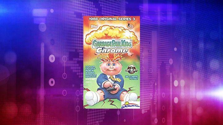 2020 Topps Garbage Pail Kids CHROME Series 3 HUGE Sealed HOBBY Box-8 REFRACTORS
