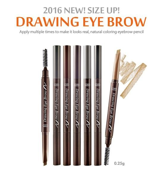 NEW!!! Etude House Drawing eye Brow New 0.25g 100% Original