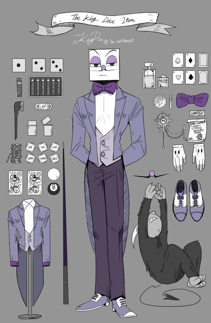 King dice items