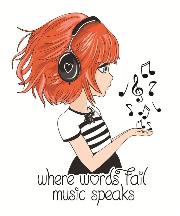 """♫♪""""MUSIC SPEAKS""""♫♪ by StudioLondon."""
