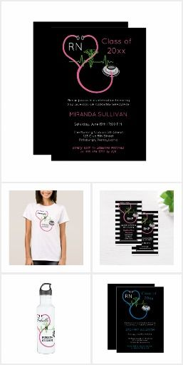 Business - Nursing Nurses Personalized Name EKG.  Original nursing design collection available with a pink or blue stethoscope (select items). Personalize with your favorite nurses name for a unique gift for student nurses as well as nursing professionals. #ad