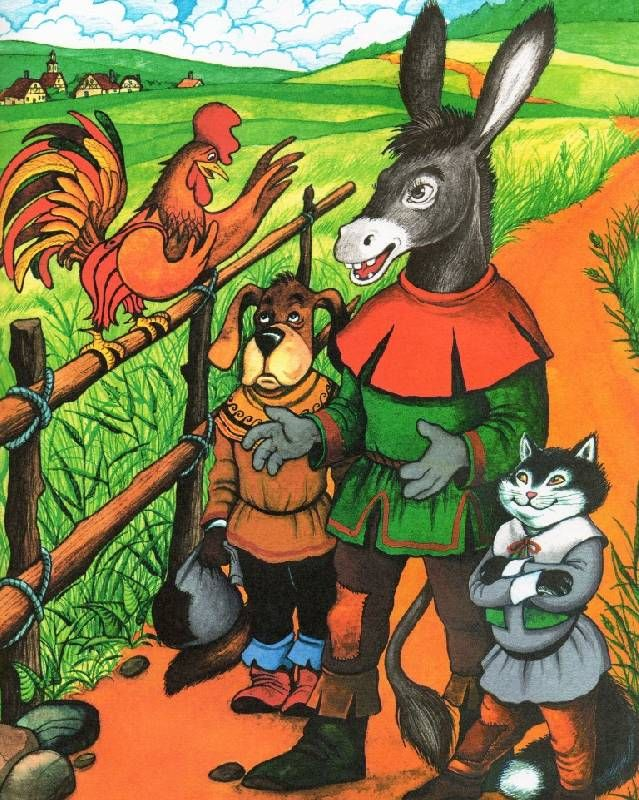 Иллюстрация 19 из 30 для Сказки братьев Гримм - Гримм Якоб и Вильгельм Petelina