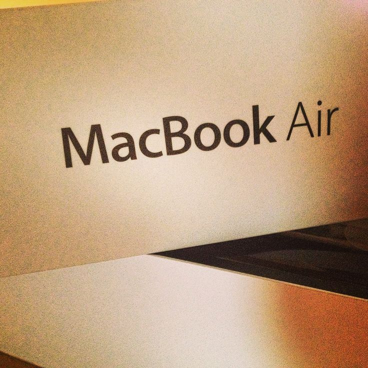 New #MacBookAir top