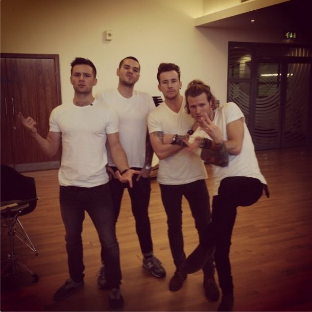 "#via@mcbusted ""It's white tshirt day..."" http://instagram.com/p/gqKKPWhGXi/ #Absolutely no need for them to do anything else. Just stand there looking fit."