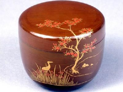 Japanese Usuchaki (container for matcha tea)