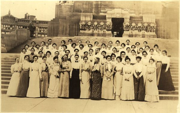 Kappa Alpha Theta 15th Convention, 1899, Indianapolis, Ind. #theta1870