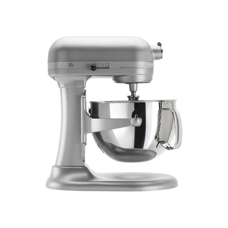 KitchenAid Professional 600 Series 6-Quart Bowl-Lift Stand Mixer - KP26M1X, Nickel Pearl