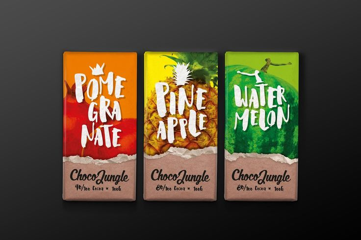 Choco Jungle (Concept) on Packaging of the World - Creative Package Design Gallery