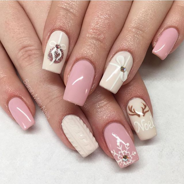 Christmas Nail Art Designs To Look Trendy This Season
