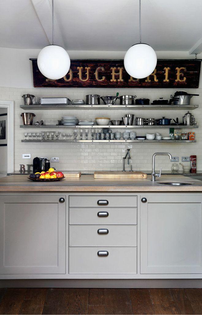 Chichester Town House : Industrial style kitchen by Tim Jasper