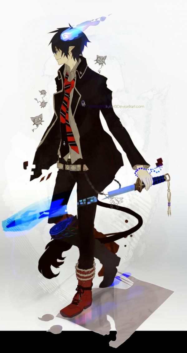 ao no exorcist | Rin  (青のエクソシスト, Ao no Ekusoshisuto/Futsumashi)