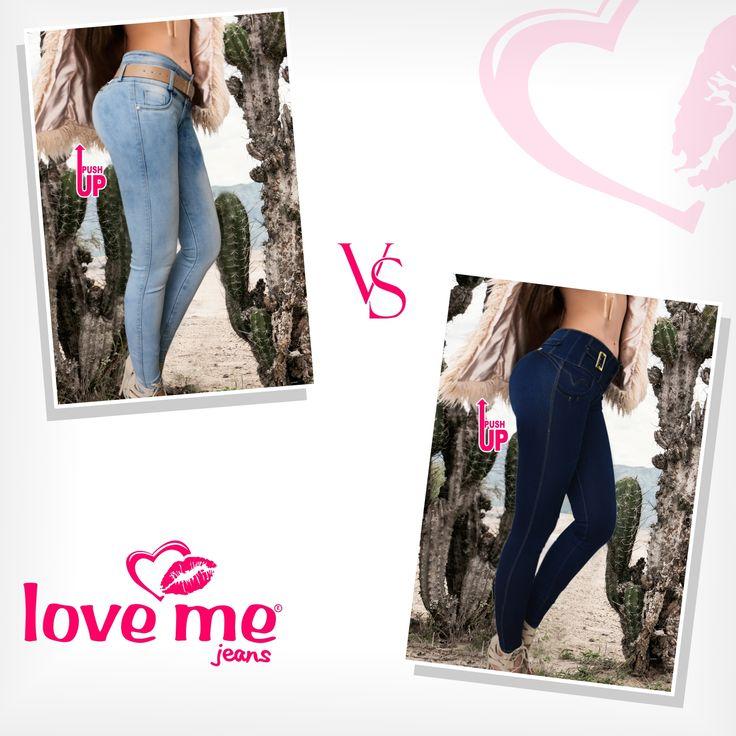 Love Me Jeans claros u oscuros, ¿con cual te quedarías?