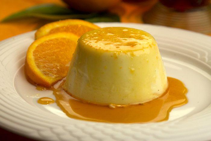 πανακοτα πορτοκάλι - Cucina Caruso