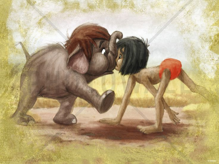 Disney Classics - Jungle Book - Fototapeter & Tapeter - Photowall