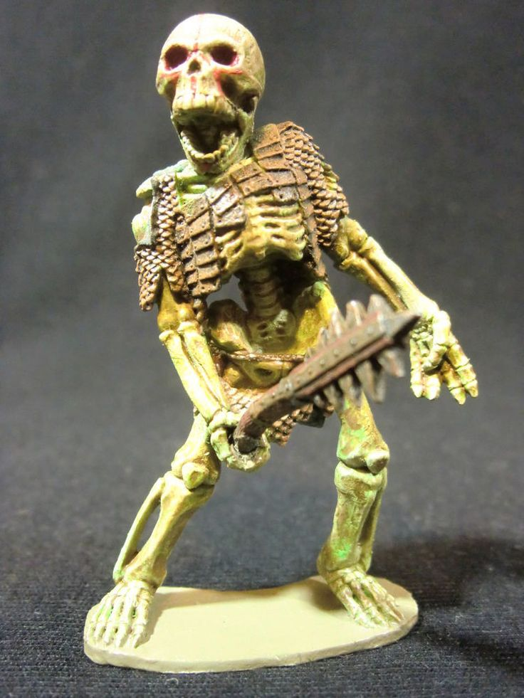Dungeons & Dragons Miniature  Skeleton Giant Ral Partha Hand Painted !!  s93 #RalPartha