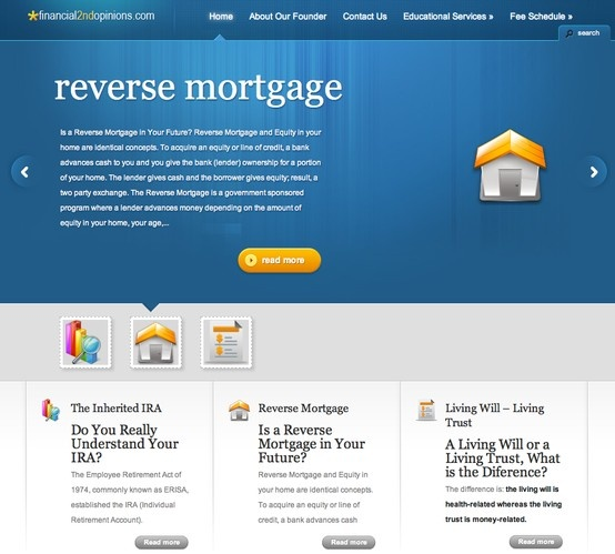 This was a site with interesting information about reverse mortgages and non-spousal IRA's. Take a look at it and you may learn something you never knew! reverse mortgage