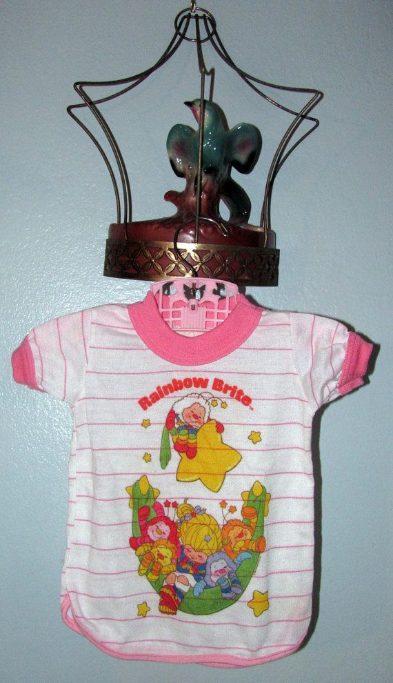 Rainbow Brite Doll Size Pajama by weescreamvintage on Etsy