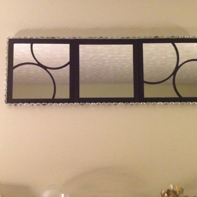 73 best mirror mirror on the wall images on pinterest for Dollar store mirror craft