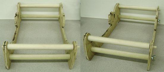 Building a rigid heddle loom