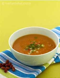 This piquant soup is ideal for the winter.