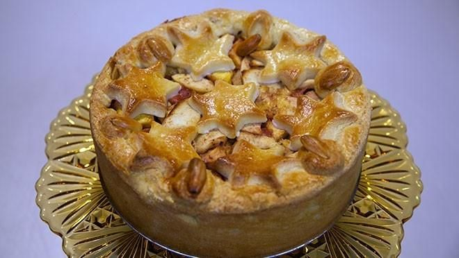Chinese appel-nectarinetaart - Rudolph's Bakery | 24Kitchen
