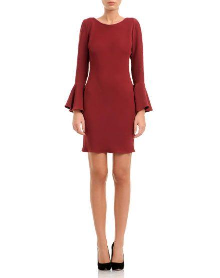 Ruffled Mini Silk Dress #Ruffles #MiniDress #Silk #Dress