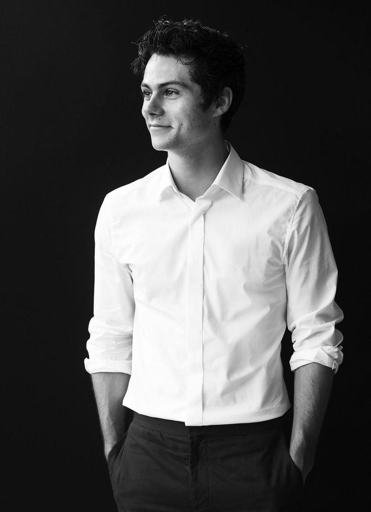  Monochromatic Portrait Dylan Obrien