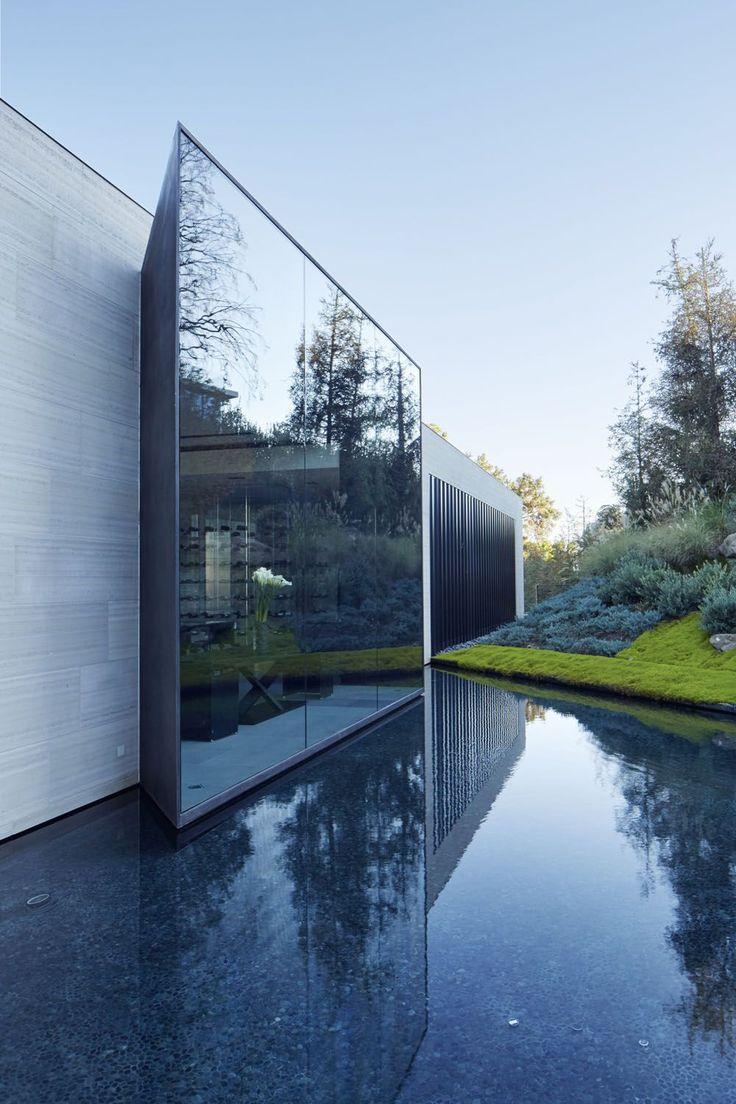 Los Angeles Hillside Villa Retreat With Daring Modern Architecture | iDesignArch | Interior Design, Architecture & Interior Decorating eMagazine