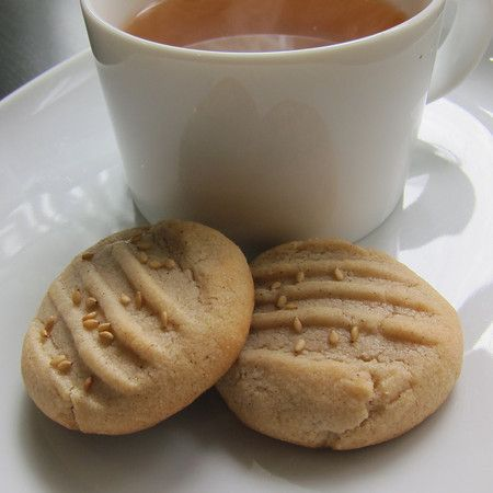 Tahini Cookies from Jerusalem A Cookbook by Yotam Ottolenghi and Sami Tamimi
