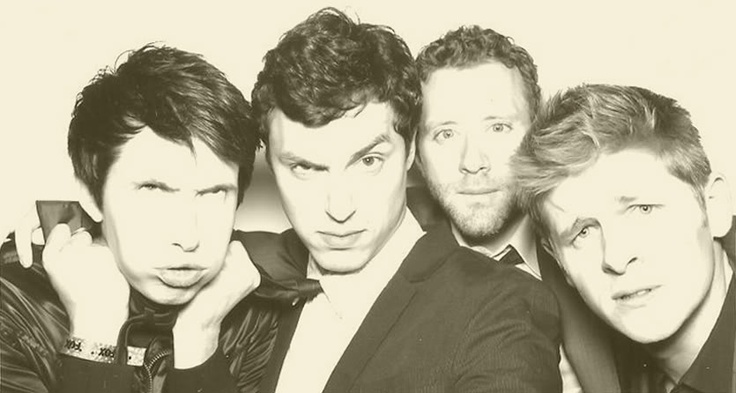 Left to Right: Ryan Cartwright, John Francis Daley, T.J. Thyne, and Michael Grant Terry