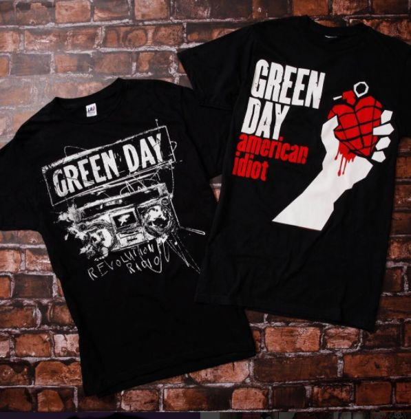 East Bay's finest // Green Day Tees