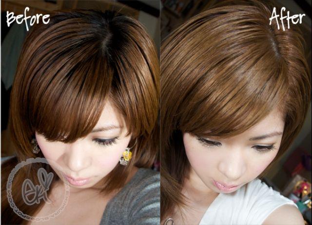 ekiBlog.com: Loreal preference True Brunettes hair dye in UL 61 review in video