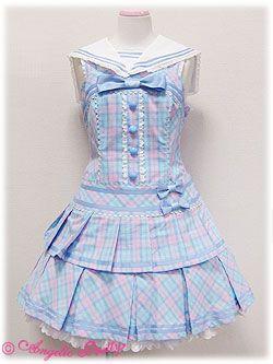 Angelic Pretty / Jumper Skirt / School March JSK