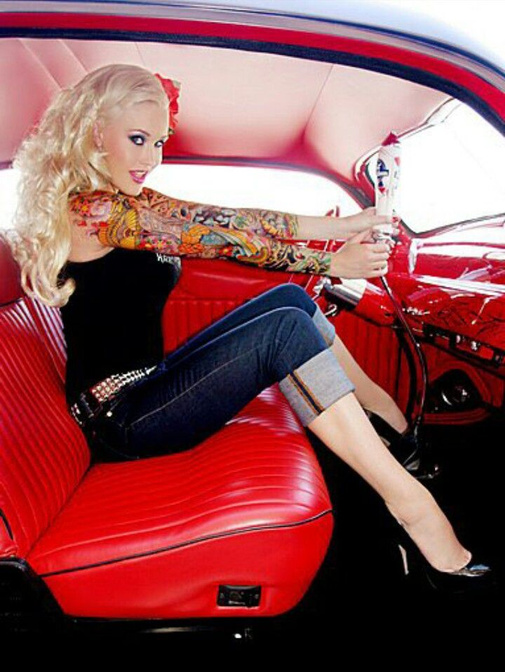 ★Sabina Kelley ★ See more at: www.tattoodlifestyle.com www.tattoodshop.com  My favorite pin up in Cary Harts Merc