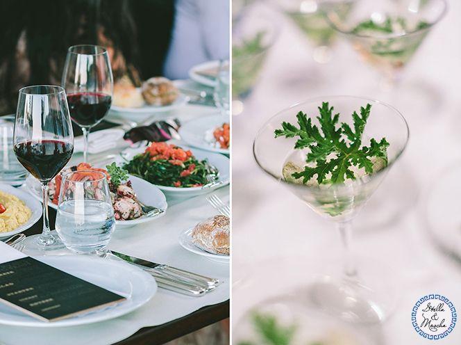 Wedding Menu | Wedding by Stella and Moscha - Exclusive Greek Island Weddings | Photo by George Pahountis