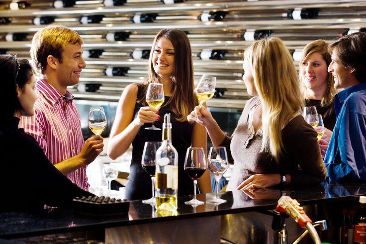Verkostung von Bordeaux-Weinen