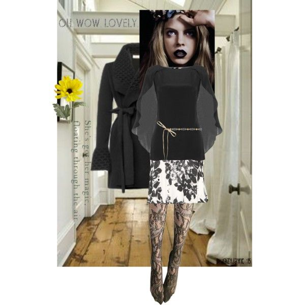 Wink At Me Top by daizyjayne on Polyvore featuring Pier 1 Imports and AlannahHill