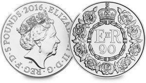 Revealed: the Queen's 90th Birthday UK Coin for 2016  #ChangeChecker #£5