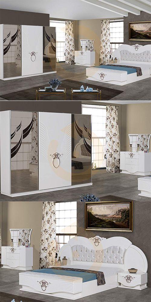Eva avangarde yatak odası modeli mobilyam online farkı ile satışta