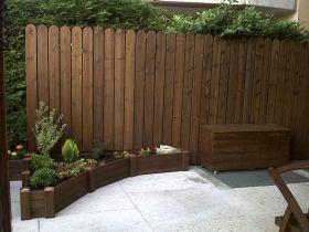 Steccato frangivista