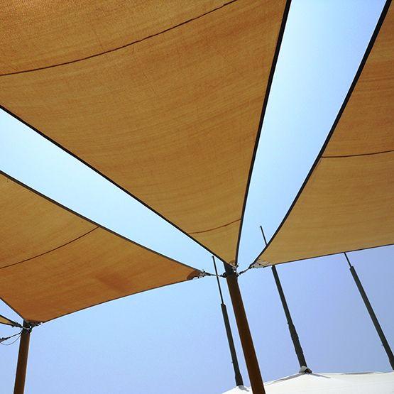 La Toile Tendue Extérieur Est Une Alternative Esthétique Aux Pergolas,  Stores Ou Parasols. Retrouvez