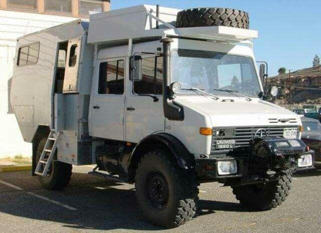 Unimog Camper Expedition TruckOverland TruckMercedes Benz UnimogOffroad