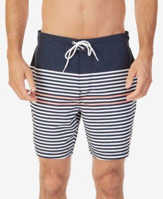 e6782e9c52 Nautica Men's Quick-Dry Striped Swim Trunks | macys.com | Tay Home ...